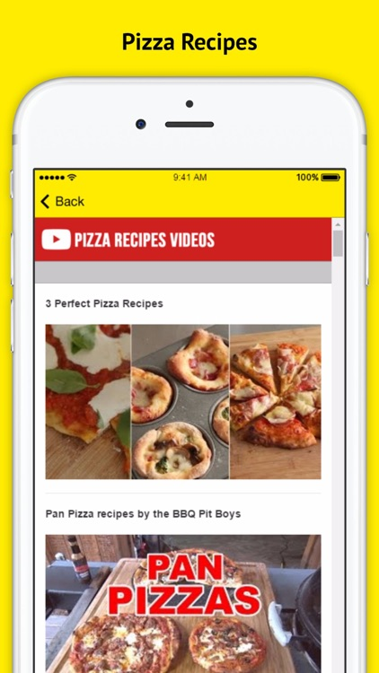Pizza Recipe - Open your cooking app and learn how to make a pizza screenshot-2