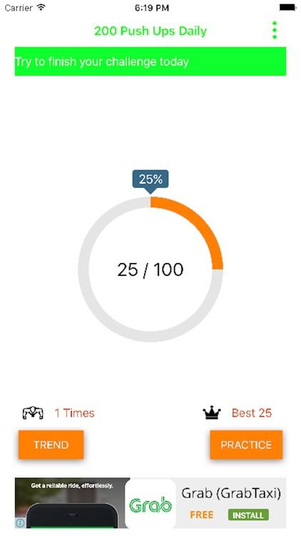 200 Push Ups Daily