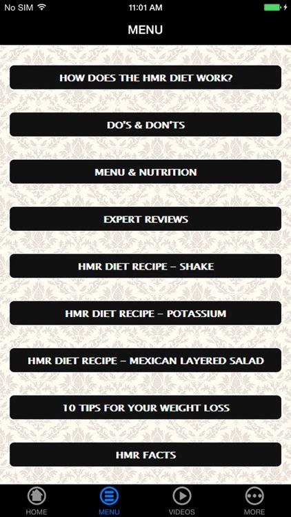 Best HMR Diet for Beginner's Guide & Tips screenshot-4