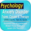 Anxiety Disorder Symptomes, Causes & Therapy: 1800 Notes, Tips & Quiz