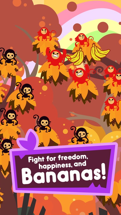 Jungle Rumble: Freedom, Happiness, and Bananas screenshot-2