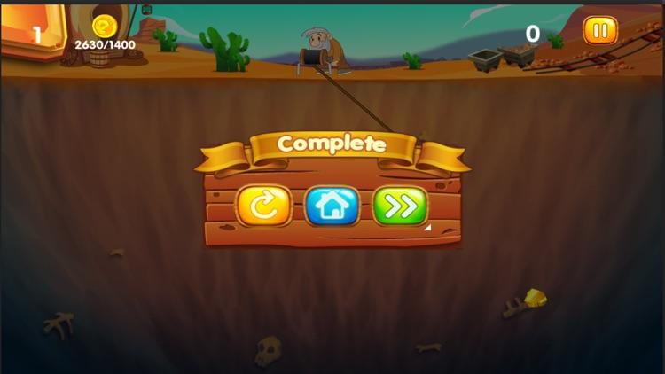 Gold Miner Adventure HD screenshot-4