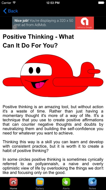Positive Words For Positive Attitude screenshot-3