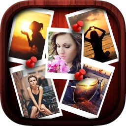 Create Collage Pics with  Multi Picture Frames