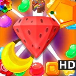 Sweet Fruit Garden Farm : Match-3 Candy Puzzle