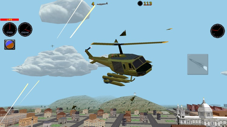 RC Helicopter 3D Lite screenshot-3