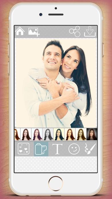 Editor de fotos de amor – fotomontajes para imágenes románticasCaptura de pantalla de2