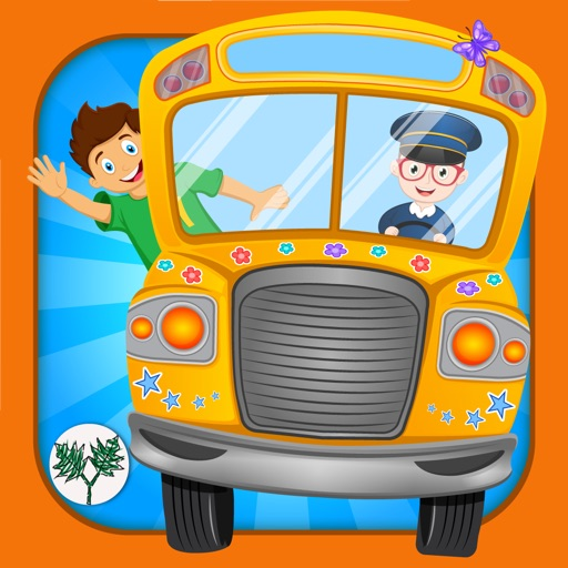 Hebrew Wheels on the Bus Go Round - Nursery Rhymes for kids