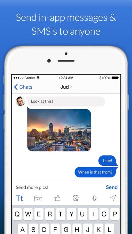 YouRoam: WiFi phone calls and text messaging screenshot-3