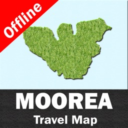 MOOREA – GPS Travel Map Offline Navigator