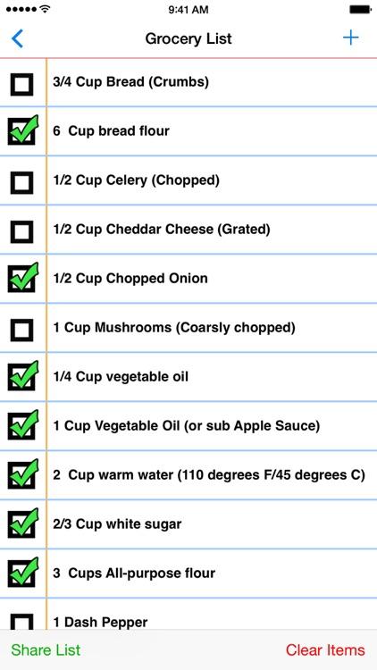 My Recipe Book - Your recipes, finally organized. screenshot-3
