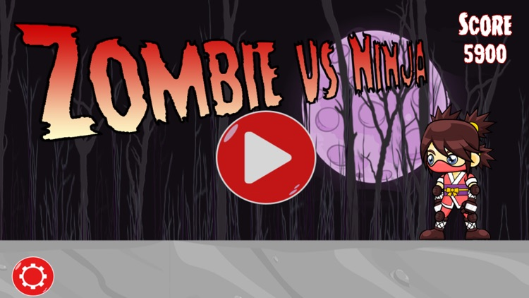 Zombies Vs Ninja Game screenshot-4