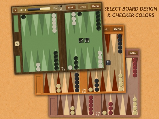 Backgammon NJ HD для iPad