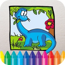 Dino Coloring Book - Dinosaur Drawing for Kids Free Games