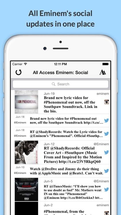 All Access: Eminem Edition - Music, Videos, Social, Photos, News & More! screenshot-3