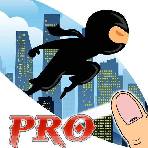 Clash Master Genius Ninja PRO - Run, Jump and Fly in the Dark City icon