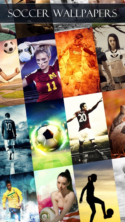 Soccer Wallpapers & Backgrounds HD - Home Screen Maker with True Themes of Football