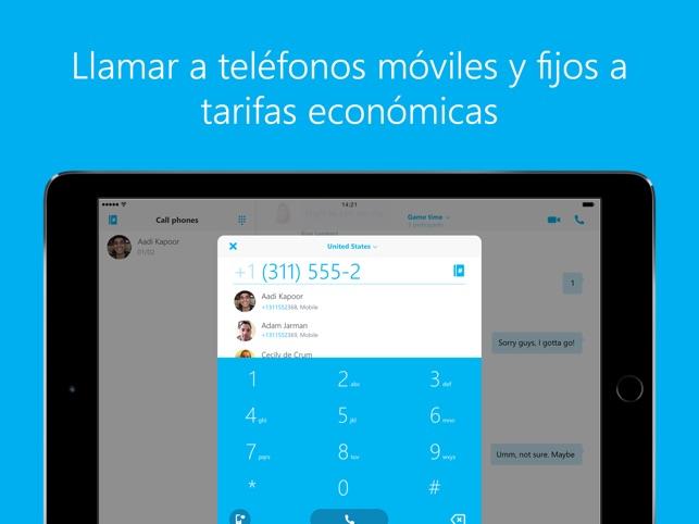 Skype para ipad en app store for App para disenar muebles ipad