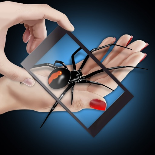 Spider Hand Camera Joke Icon