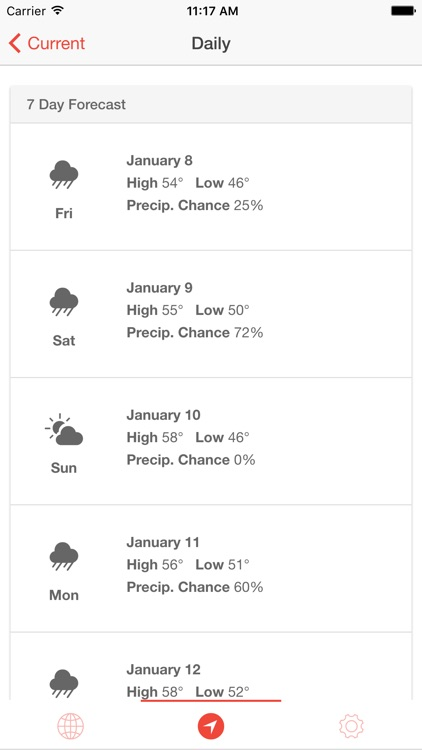 Stratus Weather: Hyperlocal Conditions and Forecasts screenshot-3