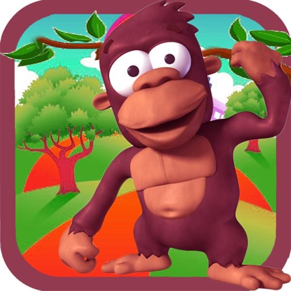 Monkey On Giant Tree