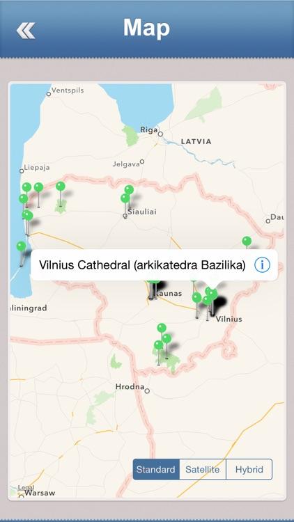 Lithuania Offline Travel Guide screenshot-3