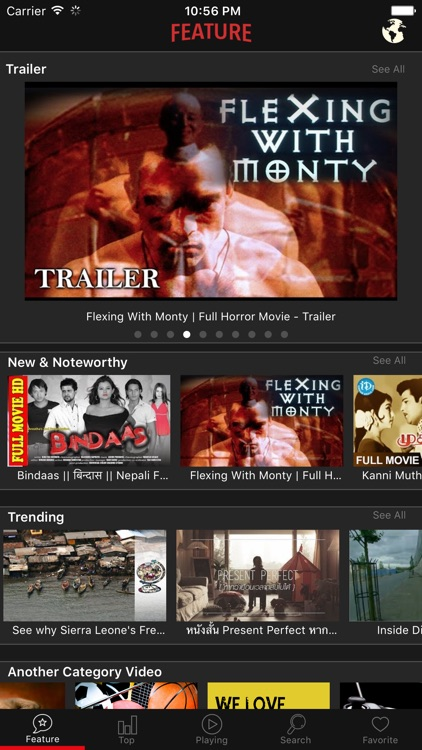 Movie Center - Discover & Enjoy your time with blockbuster movies screenshot-0