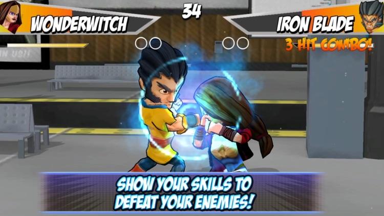 Superheros 2 Free fighting games screenshot-3