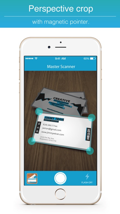 Master Scanner : Scan business card.s, book keeping, fax file with OCR Chinese English