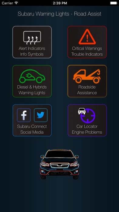App For Subaru Warning Lights Problems By Eario Inc Ios United