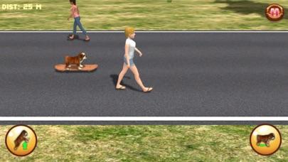 Bulldog on Skateboard 3Dのおすすめ画像4