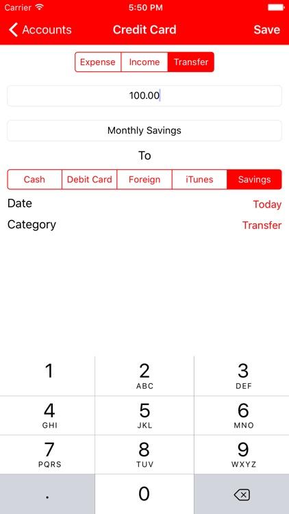 Point - Personal Finance Tracker screenshot-4