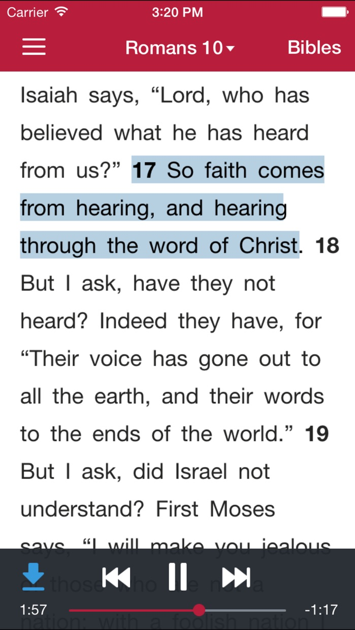 Bible.is - Dramatized Audio Bibles Screenshot