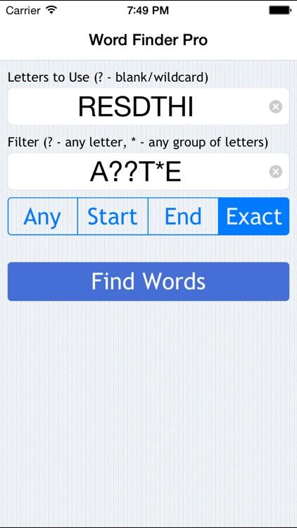 Game Word Finder screenshot-4