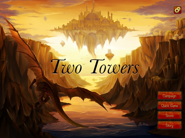 Two Towers - is a card board game for all family. HD Free. screenshot-4