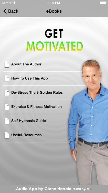 Get Motivated - Positive Motivation Hypnotherapy by Glenn Harrold screenshot-3