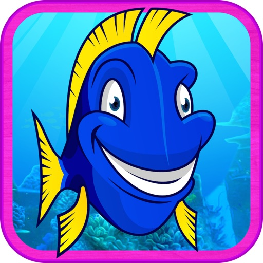 Super Dupa Blue Fish Scuba Run icon