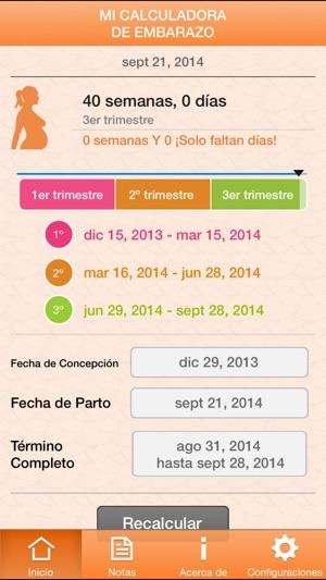 d90434cb7 Mi Calculadora de Embarazo en App Store