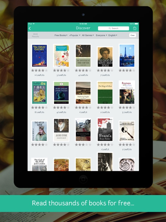 LeafLit - eReader screenshot-3