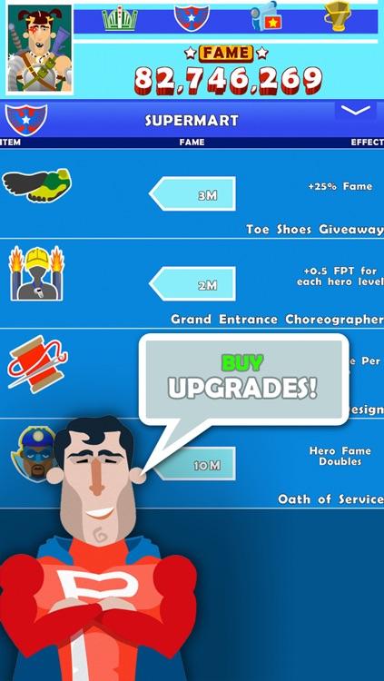 Hero Tap: The Finger of Justice screenshot-3