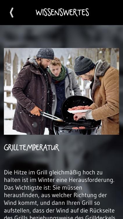 Weber Wintergrillen - die besten Grill-Rezepte für kalte Tage screenshot-4