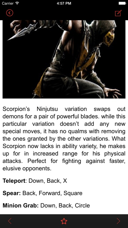 Guide for Mortal Kombat X PS4 Edition - Characters, Combos, Strategies!