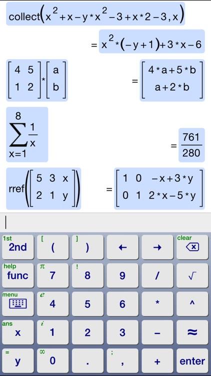 Symbolic Calculator screenshot-3