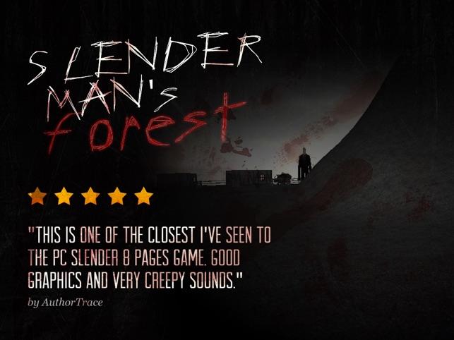 SlenderMan's Forest on the App Store