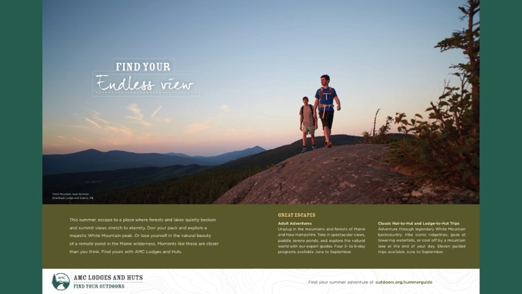 AMC Outdoors – The Magazine of the Appalachian Mountain Club screenshot-3