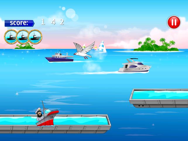 Boat Fleet Dash, game for IOS