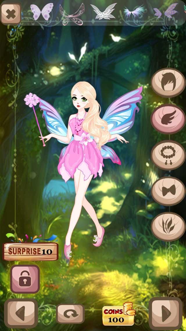 Dress Up Fairy Tale Princess – Fantasy Strawberry  Land Hidden Secrets Version