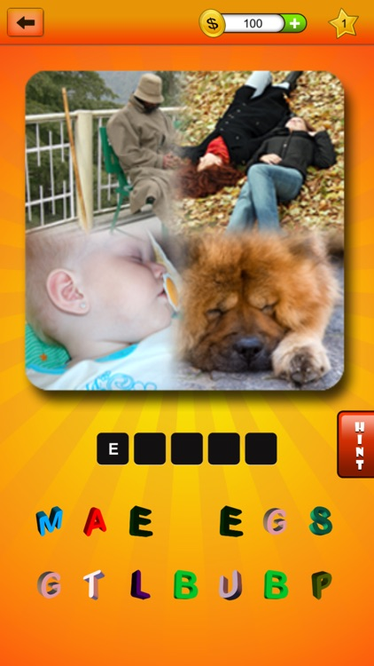 Fusion Pictures - A Multiplayer Game with 4 Hidden Pics Object & 1 Word Puzzle