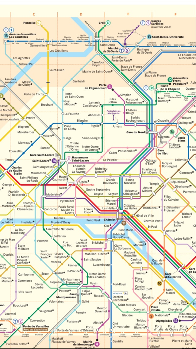 Paris Travel Guide And Offline Map Metro Paris Subway Cdg Orly