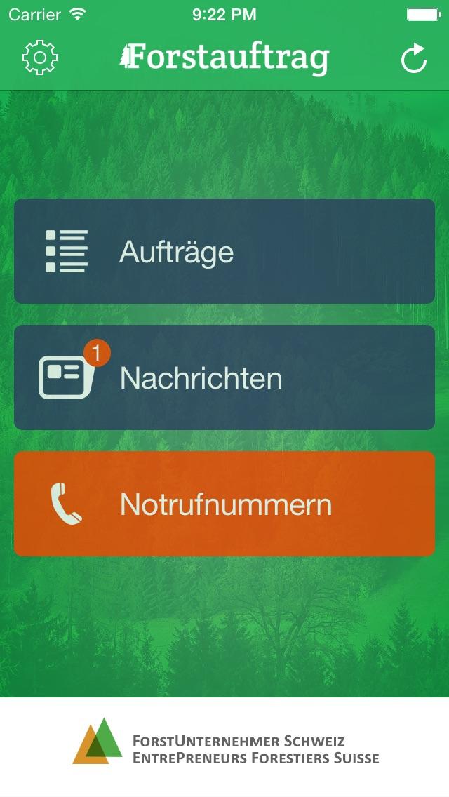 ForstauftragScreenshot von 1